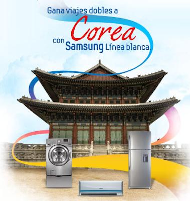 premios viajes dobles a corea promocion concurso Samsung linea blanca Mexico 2011