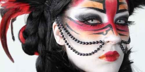 Imagenes de maquillajes de fantasia