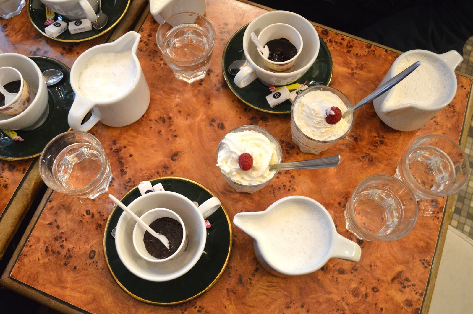 What do to for a weekend in Paris Le Voltigeur hot chocolate