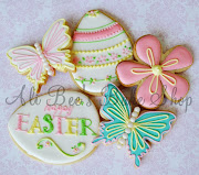 I made Easter cookie again this year. Quite a difference a year makes. easter