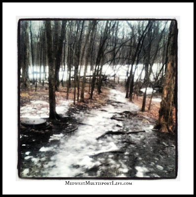 Maple Woods Winter Trail Running