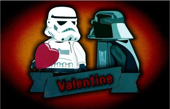 "фото Валентинка ""Звёздные войны"" star wars valentine"