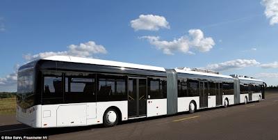 Pics of world longest bus