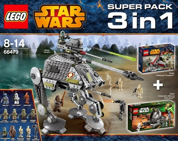 Brickstoy LEGO Star Wars 66479 Value Pack 3 In 1