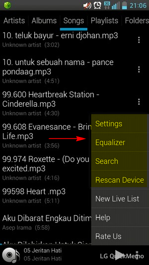 Mp3 Player Android Free Terbaik