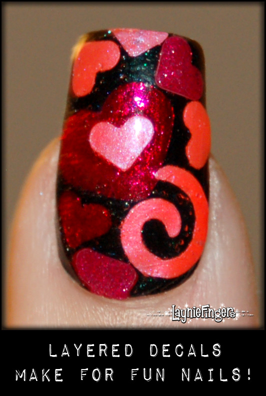 A hint about homemade nail polish decals