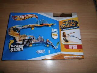 hot wheels wall track expansion pack box