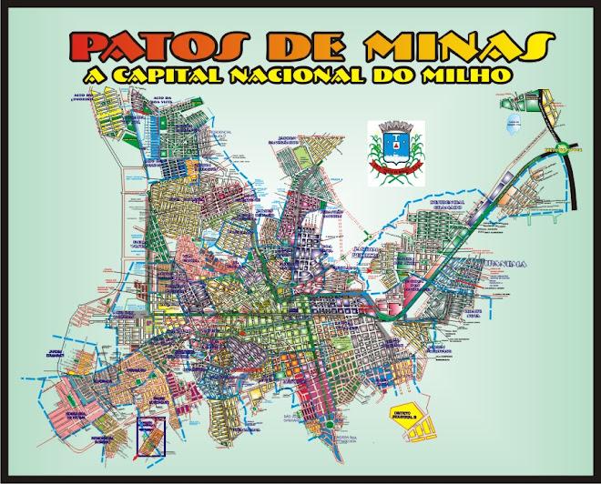 Planta Cartográfica Oficial de Patos de Minas