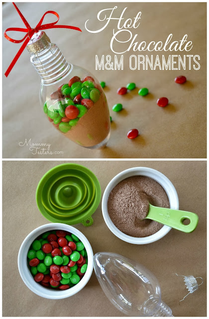 Mommy Testers, M&M Ornaments, Hot Chocolate Ornaments, #FueledbyMM #shop