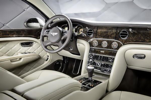 2014 New Bentley Hybrid interior