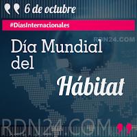 Día Mundial del Hábitat #DíasInternacionales
