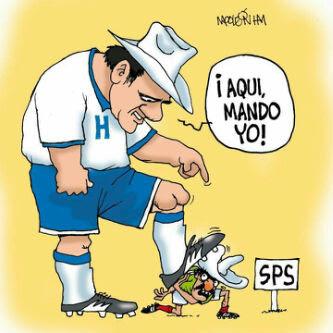 Mexico honduras futbol