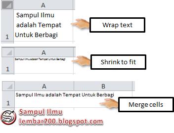 Cara Mudah Mengatur Perataan Teks Di Excel