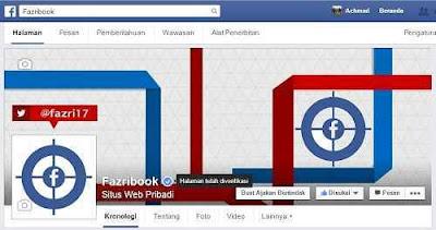 Contoh Cara verifikasi fanpage facebook