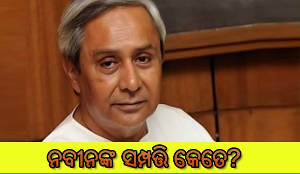 Official Property Details Of Odisha CM Naveen Patnaik