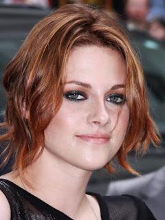 Kristen Stewart Red Wavy Hairstyles