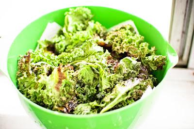 Secret Recipe Club: Kale Chips/Fries