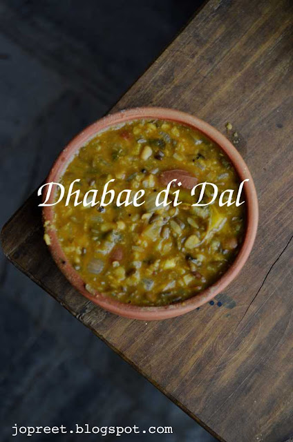 Dhaba Style Dal