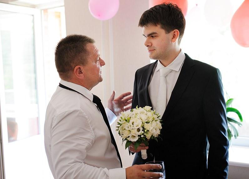 jaunikis su tėvu