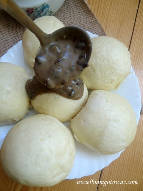 Sos z grzybów suszonych