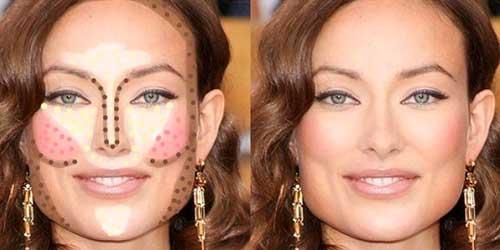 Como maquillarte segun la forma de tu rostro: rostro cuadrado