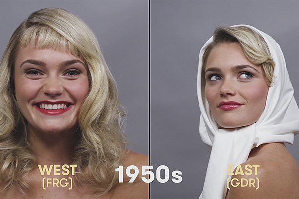 100 years of German beauty 1950