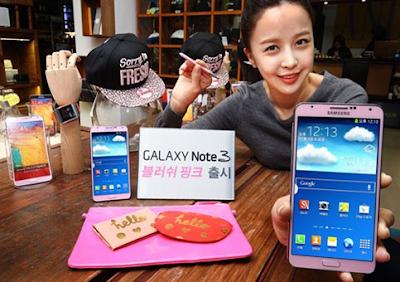 Galaxy Note III Pink