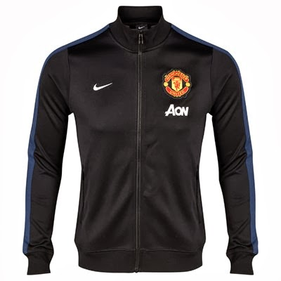 Jaket Grade Ori MU Autentic Red N98 Nike