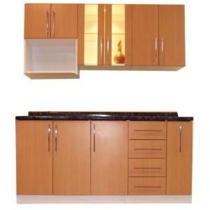 Plano de mueble de melamina proyecto 2 alacena de cocina for Muebles de cocina para armar