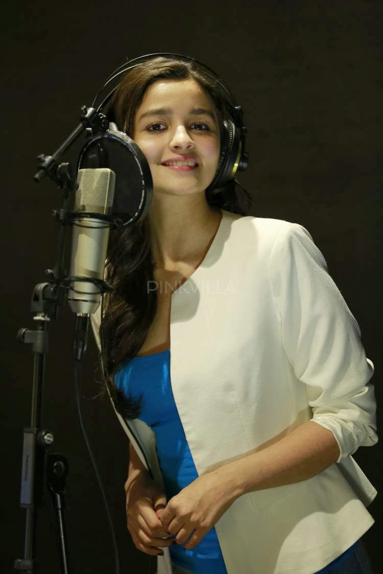 First Time Alia Bhatt sings for Highway