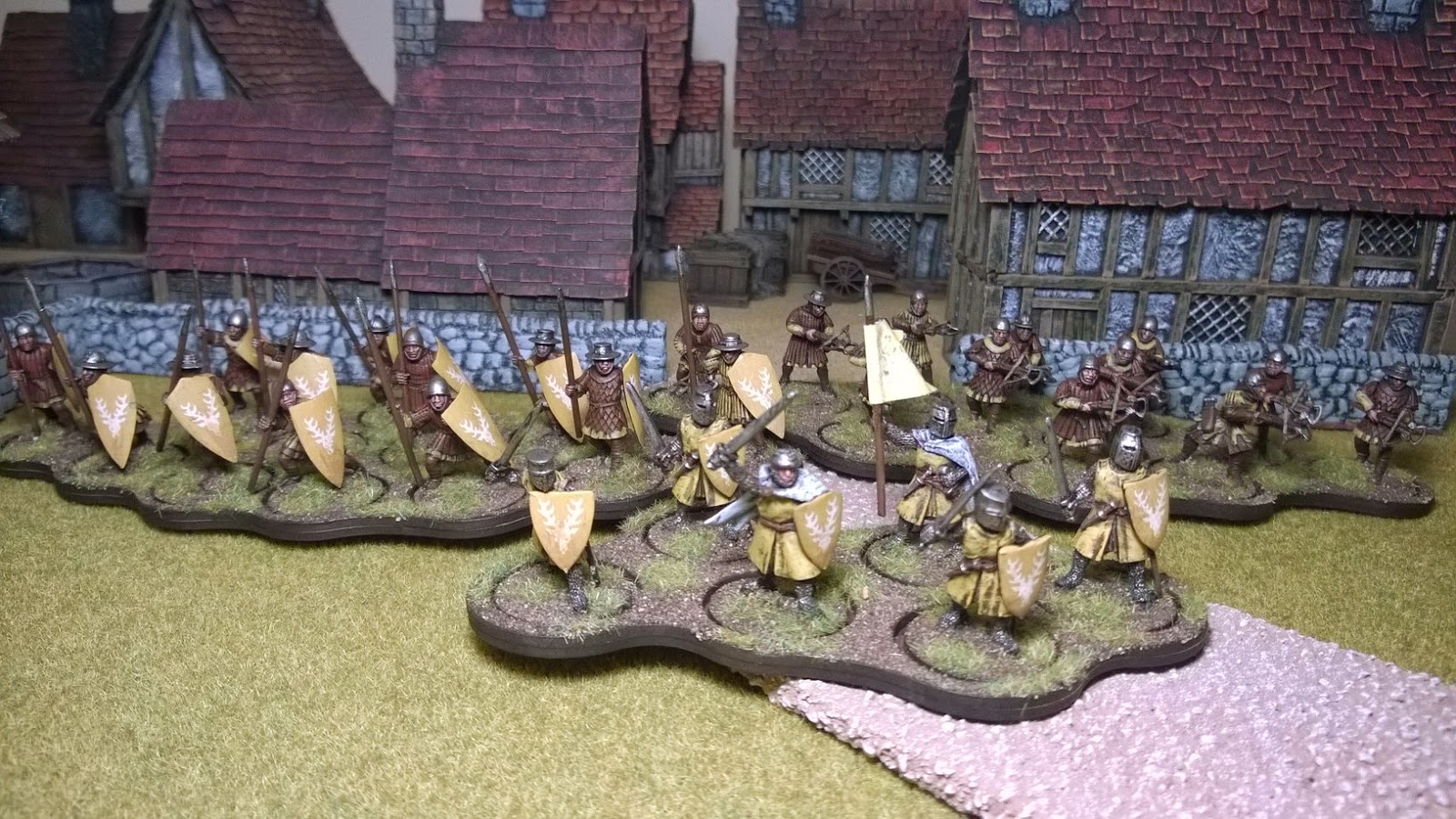 Lion's rampant foot army