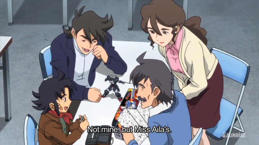 gundam build fighters episode 23 recaap gunpla eve