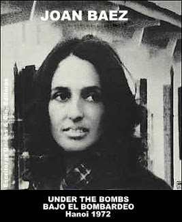 JOAN BAEZ: UNDER THE BOMBS - BAJO EL BOMBARDEO