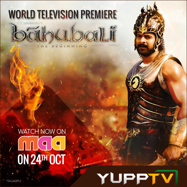 Baahubali movie in Maa TV live