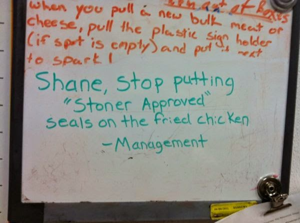 Shane, Please Stop or Shaneisms