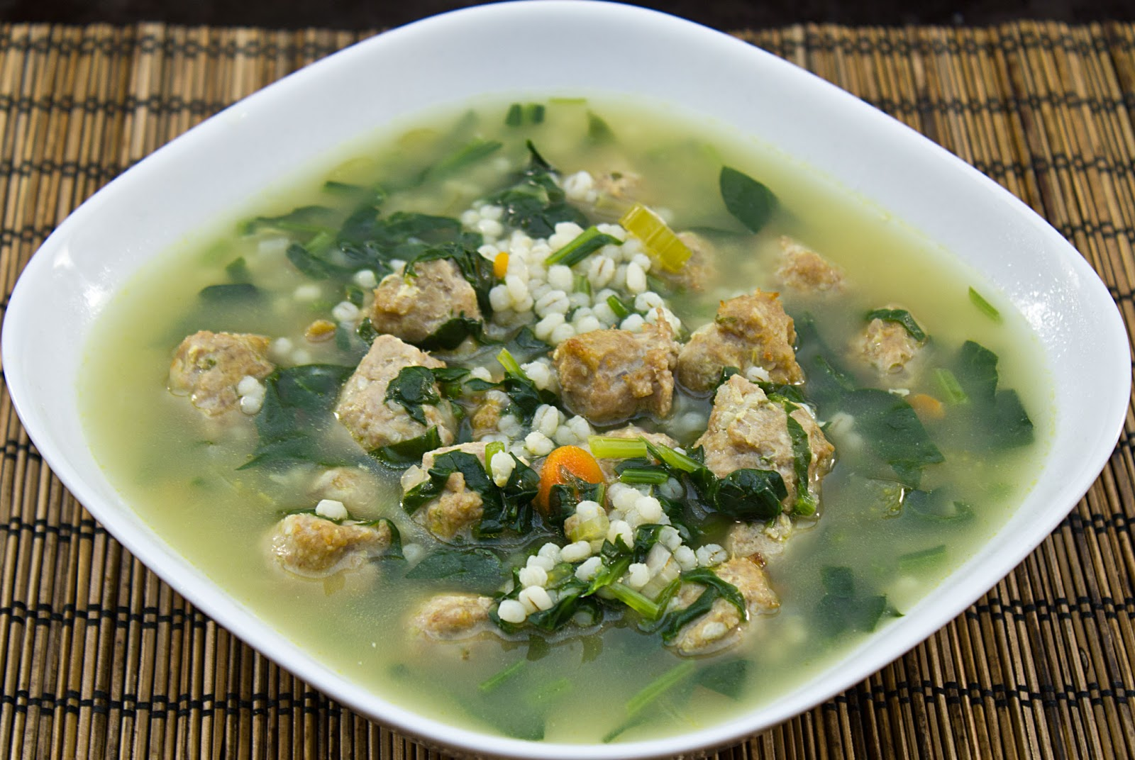 fabulous fridays: Italian Wedding soup
