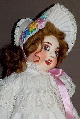 ADdoll_Annet_1 Аннет авторская текстильная шарнирная кукла Алёны Дороховой