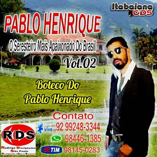 Pablo Henrique - Volume 02 Seresta - 2016