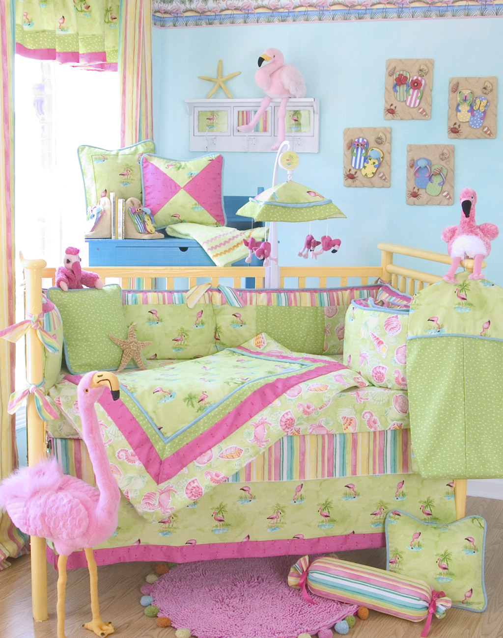 Modern home interior design baby bedding Baby girl bedding