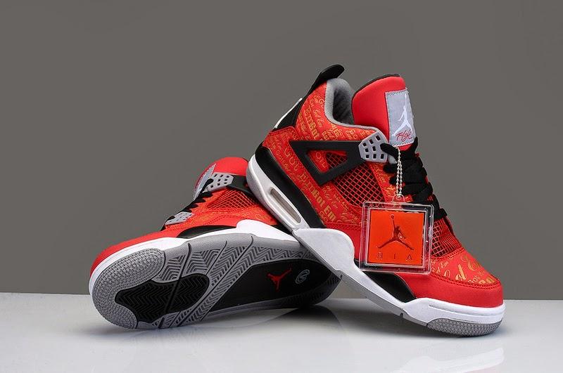Air Jordan 4 Retro Men Shoes 40 46 Newjordansokru
