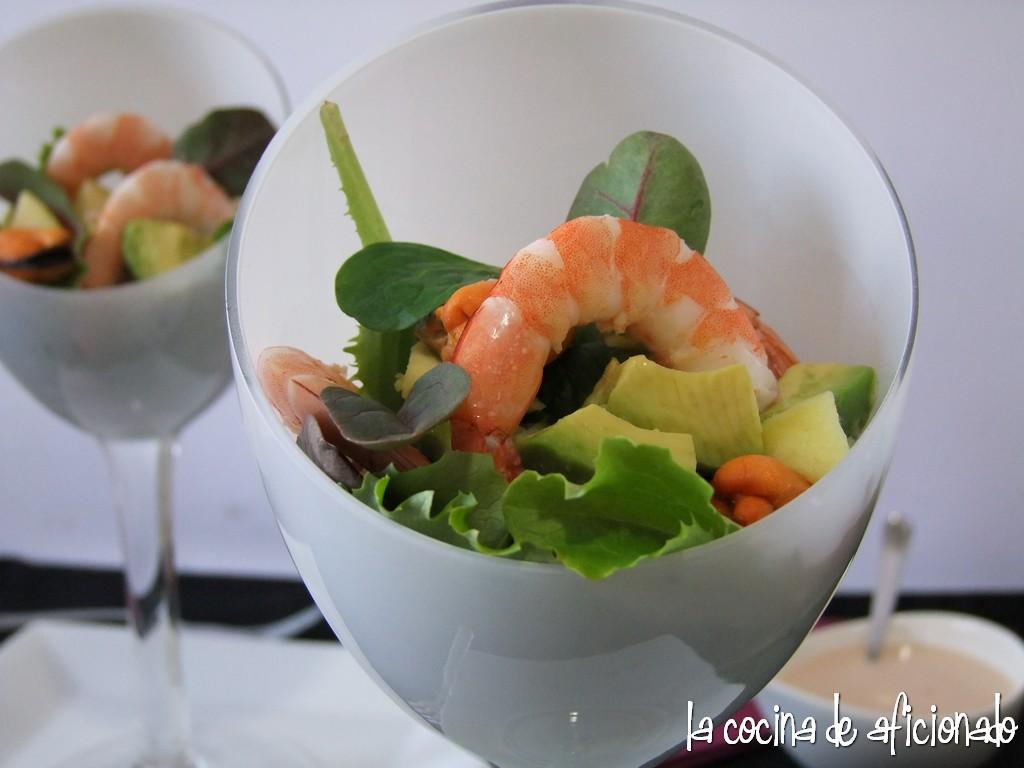 Marzo 2012 blog de prueba - Coctel de marisco con aguacate ...