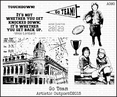 Artistic Outpost Stamp set: Go Tea