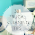 30 Frugal House Cleaning Tips