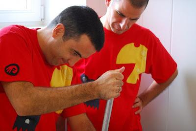 Óscar Velasco y Abel Valverde de Santceloni. Blog Esteban Capdevila