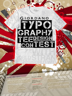 contest: Giordano Typography Tee Design Contest Mechanics