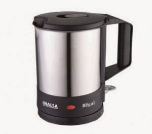 Shopclues: Buy Inalsa Regal Electric Kettle and Rs. 28 Cashback at Rs.1309
