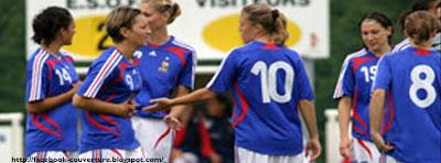 Image couverture facebook football féminin français