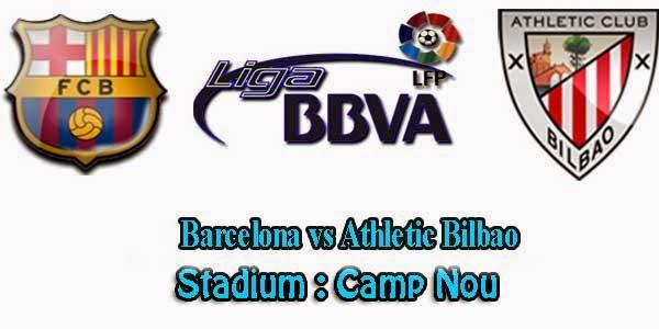 Prediksi Gue Barcelona vs Athletic Bilbao 13 Sep 2014