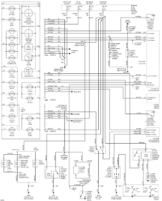 1997 Ford Econoline E150 Instrument Cluster System Schematic instrument cluster system schematic 1997 ford econoline e150 1997 ford e150 wiring diagram at readyjetset.co