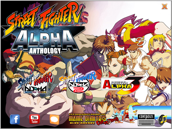Street Fighter Alpha Collections Portable